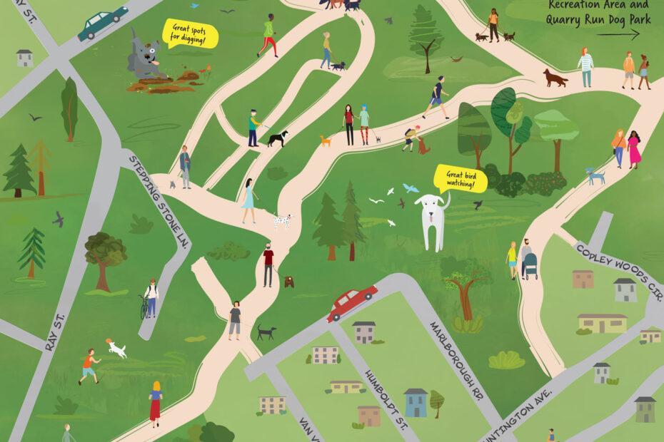 virginia woods map